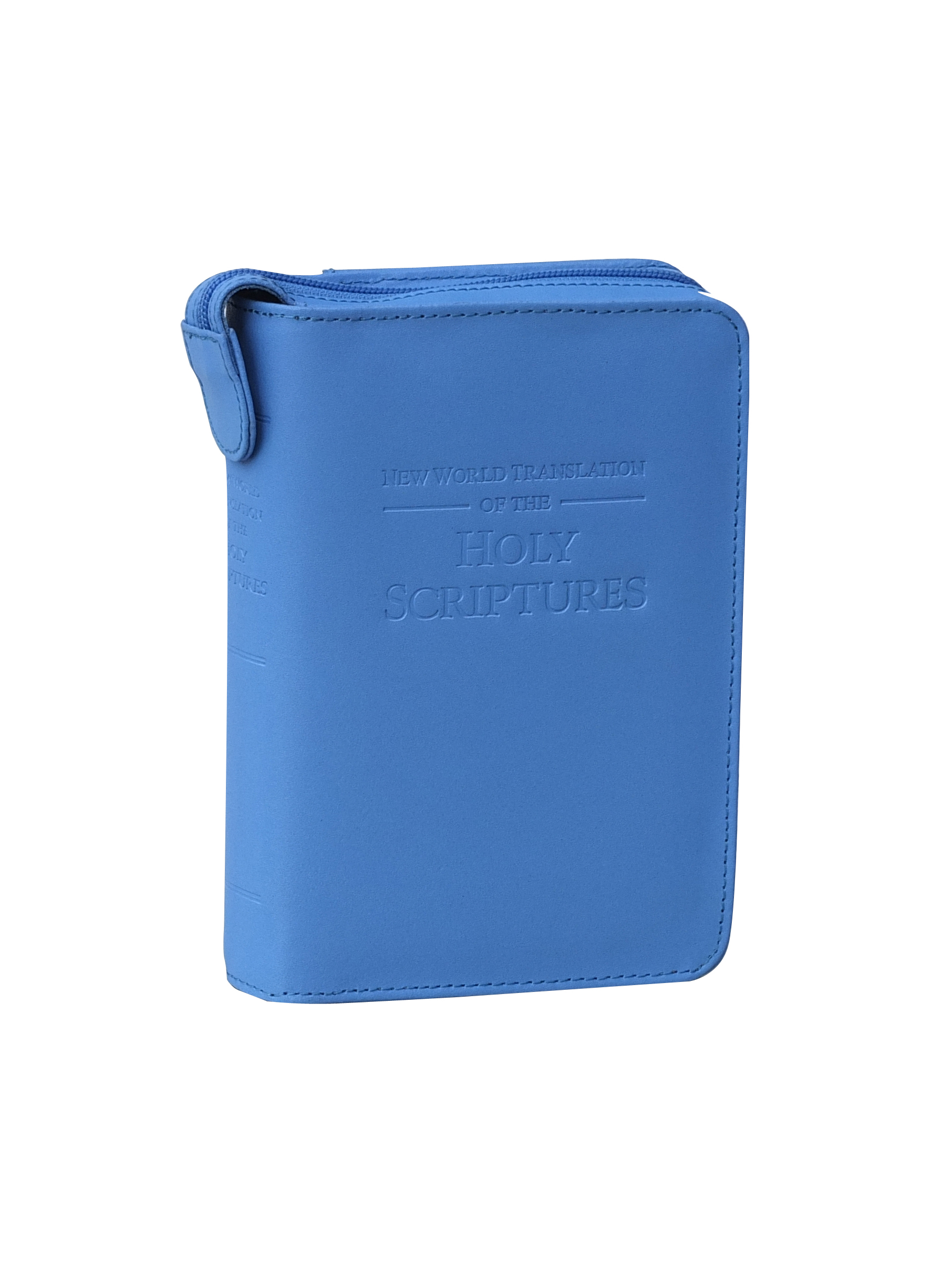 Leather Deluxe Bible cover Blue