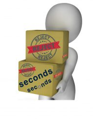 Rejects/Seconds/Surplus